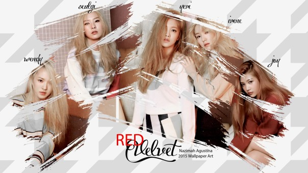 red velvet 2015 yeri irene seulgi joy wendy wallpaper by nazimah agustina