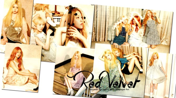 rv red velvet blonde wallpaper by nazimah agustina