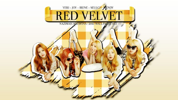 RV YELLOW red velvet ot5 wallpaper by nazimah agustina