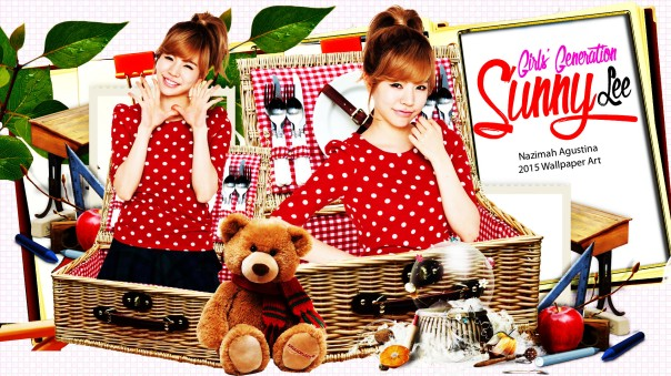 sunny lee cute fo her birthday wallpaper by nazimah agustina