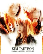 TAEYEON kim snsd cover at lighting graphic by nazimah agustina