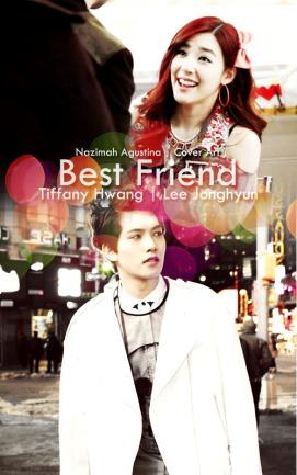 lee jong hyun tiffany hwang best friend cover art light soft cnblue snsd by nazimah agustina