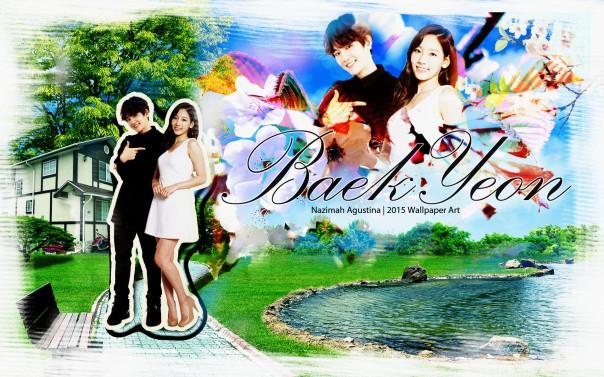 baekyeon nature baekhyun exo taeyeon snsd cute couple wallpaper by nazimah agustina