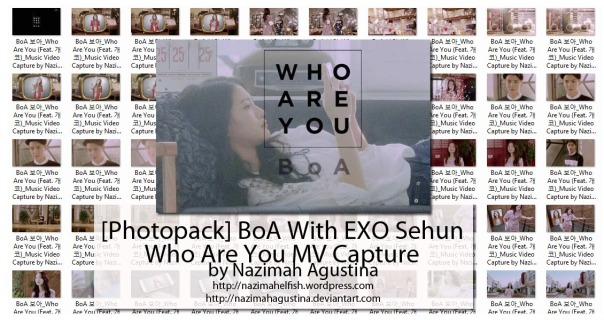 download photopack kwon boa feat gaeko with exo sehun who are you mv capture by nazimah agustina