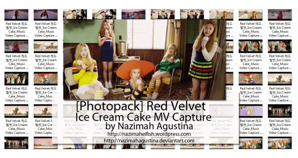 download photopack red velvet ice cream cake mv capture by nazimah agustina