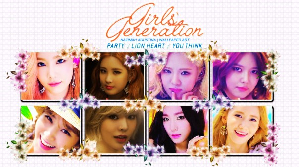 GG PARTY lion heart you think teaser 2015 comeback cute sexy snsd girls generation sunny taeyeon yuri yoona sooyoung hyoyeon seohyun tiffany wallpaper by nazimah agustina (3)