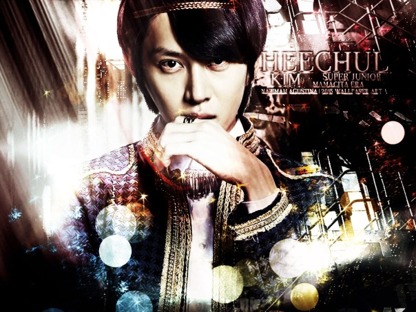 kim heechul graphic purrple ver mamacita era super junior happy birhday 2015 wallpaper by nazimah agustina