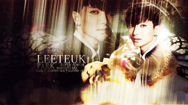 park leeteuk mamacita era super junior happy birhday 2015 wallpaper by nazimah agustina