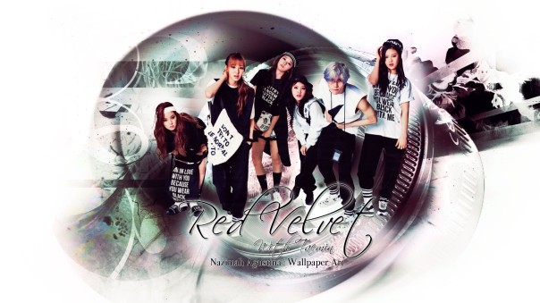 red velvet with shinee taemin magazine hip-hop wallpaper by nazimah agustina art 2015 (1)