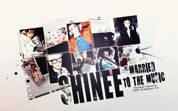 shinee married to the music 2015 repackage scrapbook tumbl concept wallpaper by nazimah agustina (2)