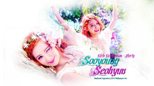 snsd girls generation party 2015 mv taeyeon tiffany sunny hyoyeon yuri sooyoung yoona seohyun wallpaper by nazimah agustina (5)