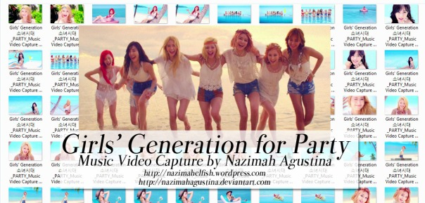 snsd girls generation party music video screencapture 2015 summer by nazimah agustina art