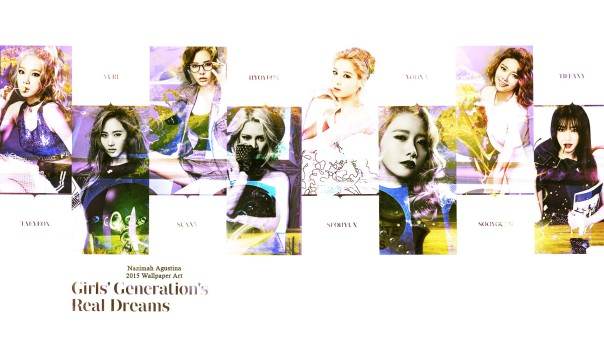 snsd real dream girls generation 2015 ot8 wallpaper by nazimah agustina