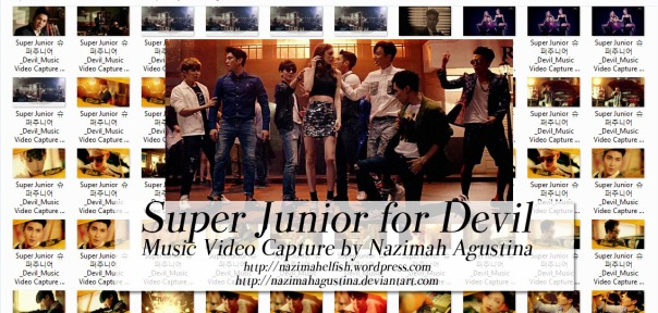 super junior devil 2015 mv music video capture by nazimah agustina art