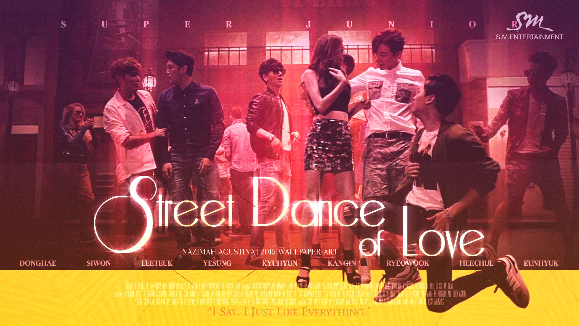 Google themes super junior -  Super Junior Devil Music Video Wallpaper By Nazimah Agustina Art 201