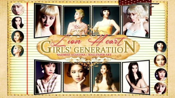 lion heart snsd girls generation ot8 2015 comeback wallpaper by nazimah agustina (2)