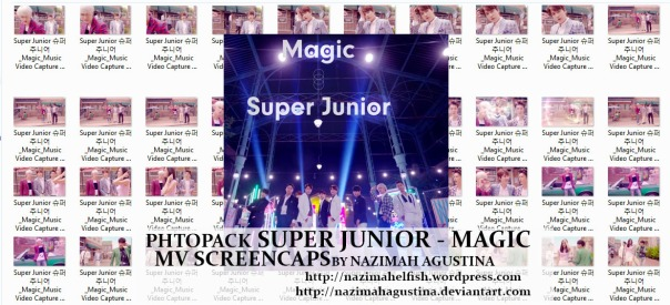 download photo packsuper junior magic mv capture screencaps preview by nazimah agustina