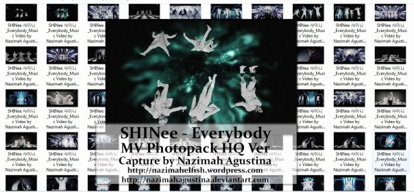 [photo pack] SHINee Everybody mv screencaps by nazimah agustina