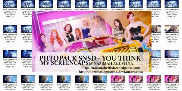 [Photo Pack] snsd girls generation YOU THINK MV Screencaps by Nazimah Agustina