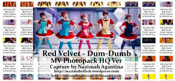 preview photopack red velvet dumb-dumb mv capture hq 1080 2015 by nazimah agustina
