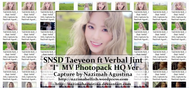 preview photopack snsd taeyeon feat verbal jint i mv capture hq 1080 2015 by nazimah agustina