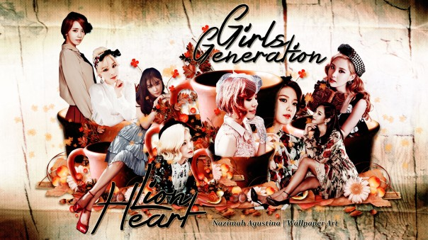 SNSD LIONheart wallpaper 2015