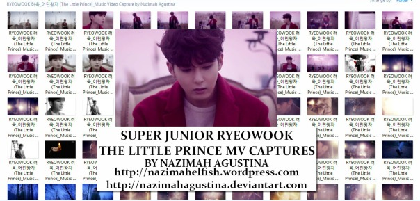 download photo packsuper junior ryeowook the little prince mv capture screencaps preview by nazimah agustina