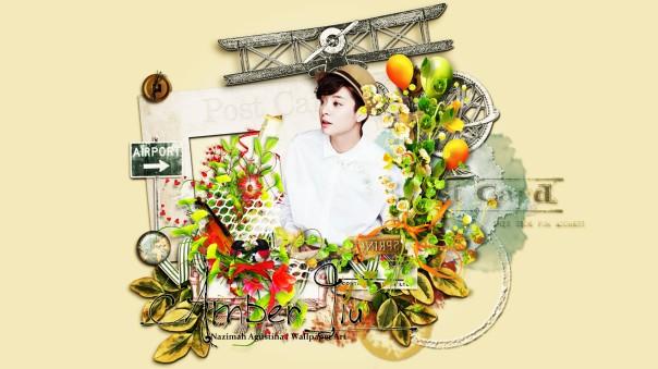 f(x) in the scrapbook flower victoria luna amber krystal sulli meu cute wallpaper by nazimah agustina (5)