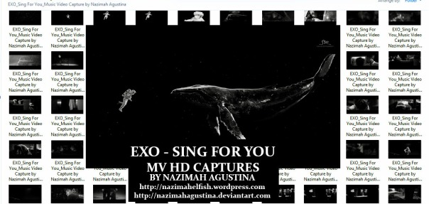 preview photopack EXO sing for you mv capture hq 1080 2015 by nazimah agustina