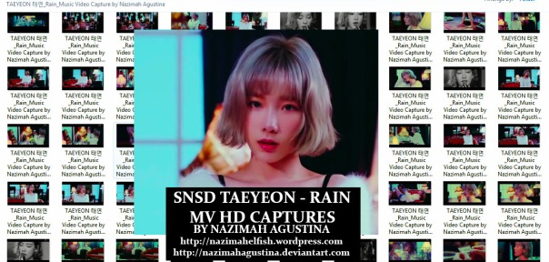 preview photopack snsd taeyeon rain station mv capture hq 1080 2015 by nazimah agustina