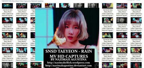 preview photopack snsd taeyeon rain station mv capture hq 1080 2015 by nazimah agustina
