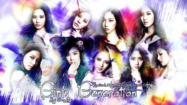 snsd real baby-g wallpaper cute light taeyeon seohyun sunny yuri yoona jessica sooyoung tiffany hyoyeon by nazimah agustina