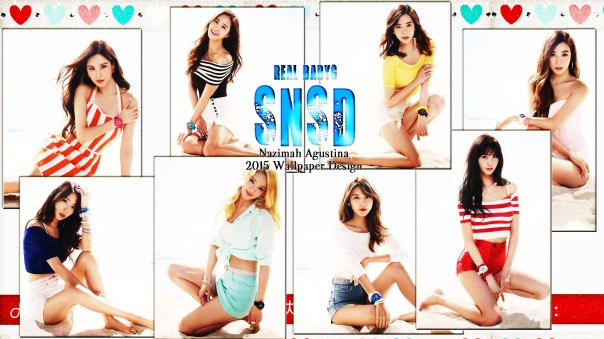snsd real casio baby-g new 2015 summer beach wallpaper by nazimah agustina picture spam ver