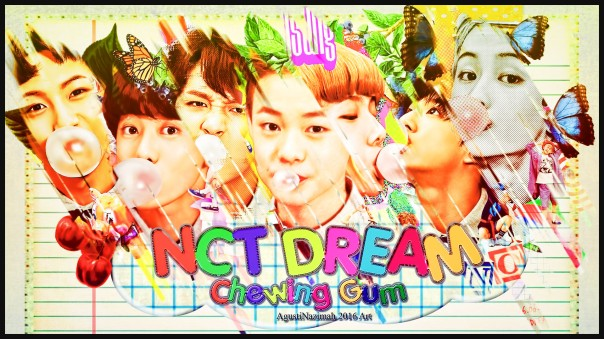 chewing gum nct dream wallpaper 2016 mark jeno jaemin jisung chenle renjun haechan