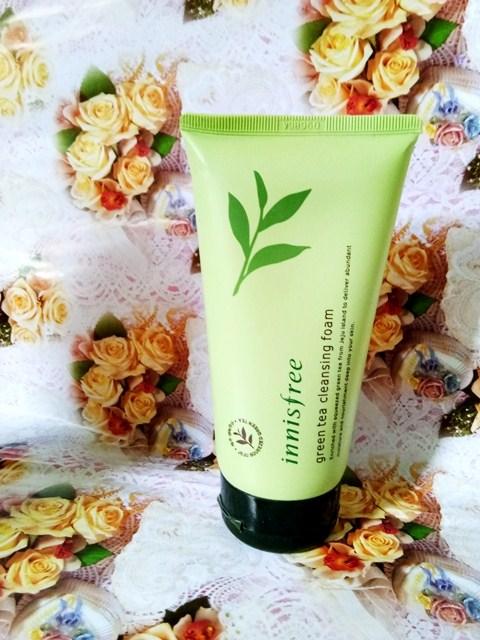 [Review Saya] Innisfree Greentea Cleansing Foam