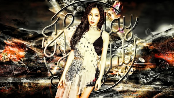 TAEYEON HOLIDAY NIGHT snsd new comeback 6th album wallpaper by nazimah agustina