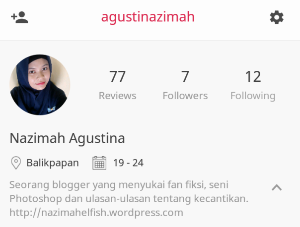 Nazimah Agustina Female Daily Account